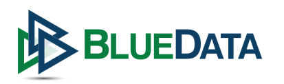 blue data logo