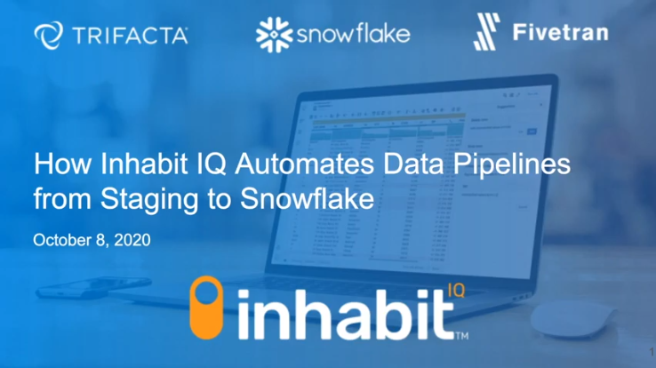 How Inhabit IQ Automates Data Pipelines from Staging to Snowflake